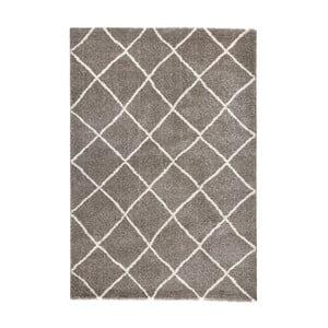 Brązowy dywan Mint Rugs Grid, 80x150cm