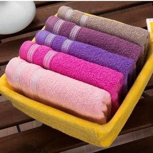 Zestaw 5 ręczników Yellow Basket, 30x50 cm