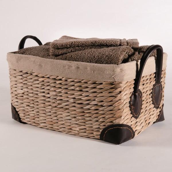 Koszyk z trawy morskiej Compactor Seagrass, szer. 34 cm
