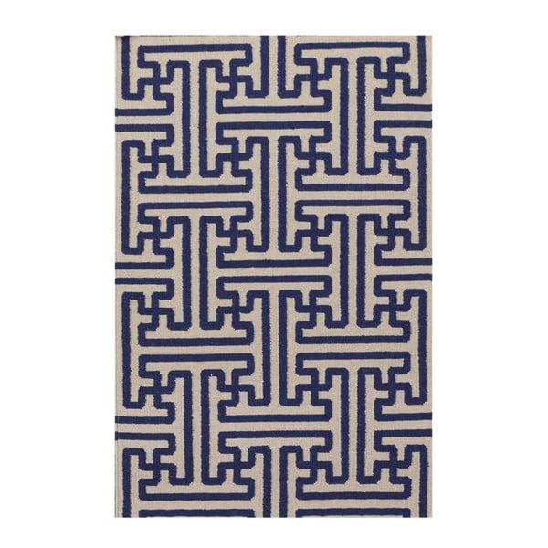 Ręcznie tkany dywan Kilim JP 11188 Blue, 110x170 cm