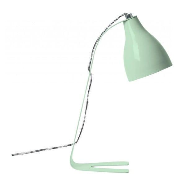 Zielona lampa stołowa Karlsson Barefoot