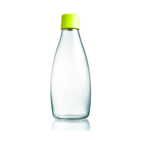 Cytronowa butelka ze szkła ReTap z dożywotnią gwarancją, 800 ml