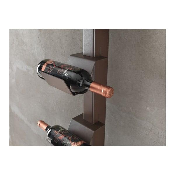 Stojak na wino Dionisio Bottle Ruggine