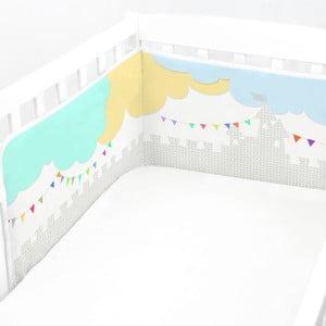 Regulowany ochraniacz do łóżeczka Baleno Dragon, 210x40 cm