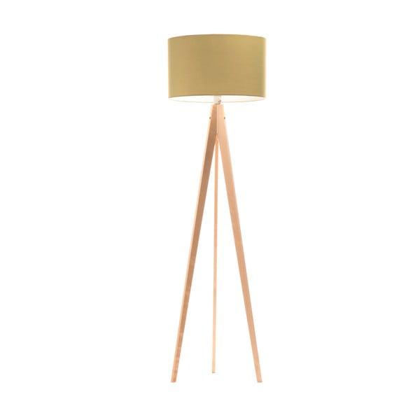 Lampa stojąca Artist Mint/Birch, 125x42 cm
