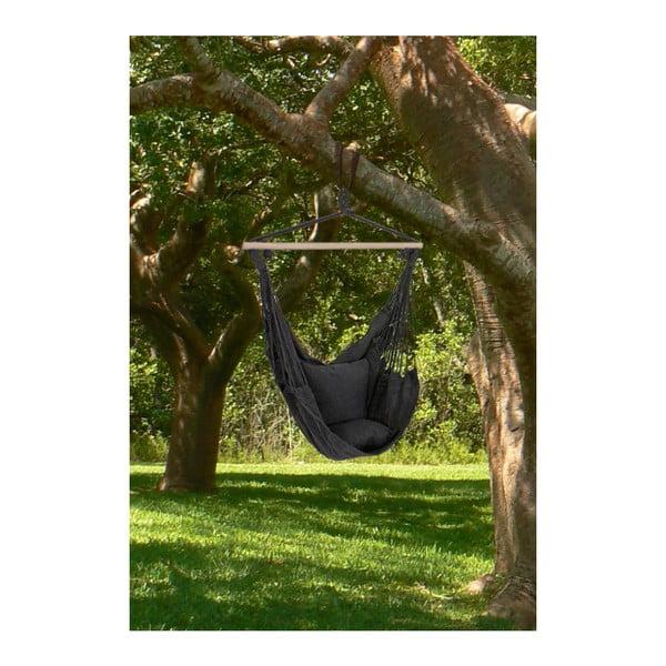 Ciemnoszary podwieszany fotel ogrodowy ADDU Tobago