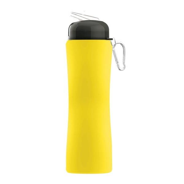Rewolucyjna butelka Sili-Squeeze, żółta, 650 ml