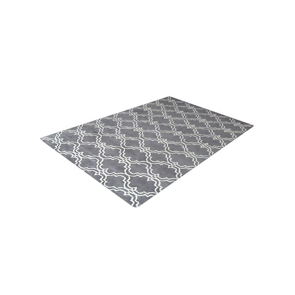Szary dywan tuftowany ręcznie Bakero Riviera, 122x183 cm