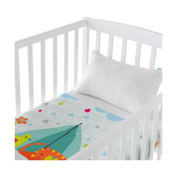 Dziecięca narzuta z poszewką na poduszkę Baleno Happy Campers, 100x130 cm