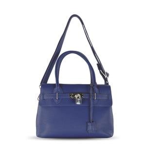 Skórzana torebka Jen, niebieska