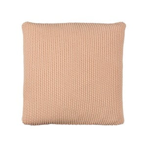 Poduszka z wypełnieniem Moss Knit Peach, 50x50 cm