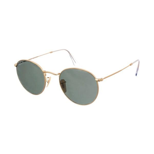 Okulary przeciwsłoneczne Ray-Ban Round Metal Dorado Matte