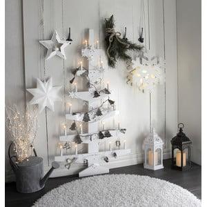 Biała dekoracja świecąca na ścianę Wall Tree