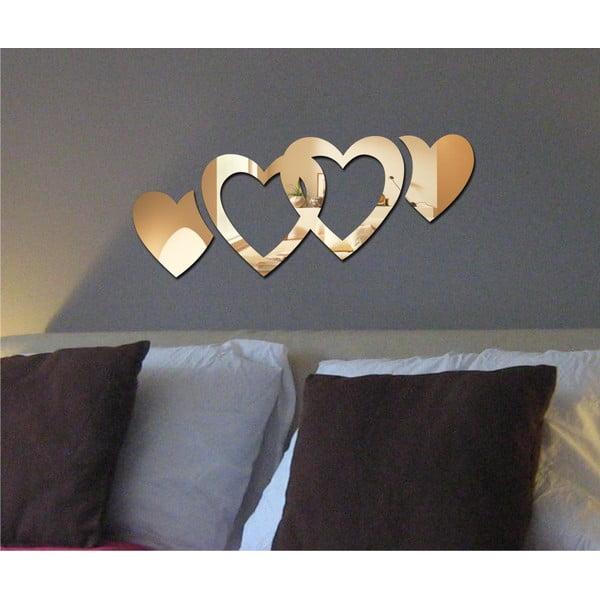 Lustro dekoracyjne Double Hearts