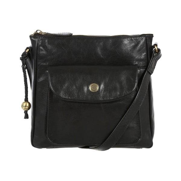 Damska torba skórzana Shirley Black
