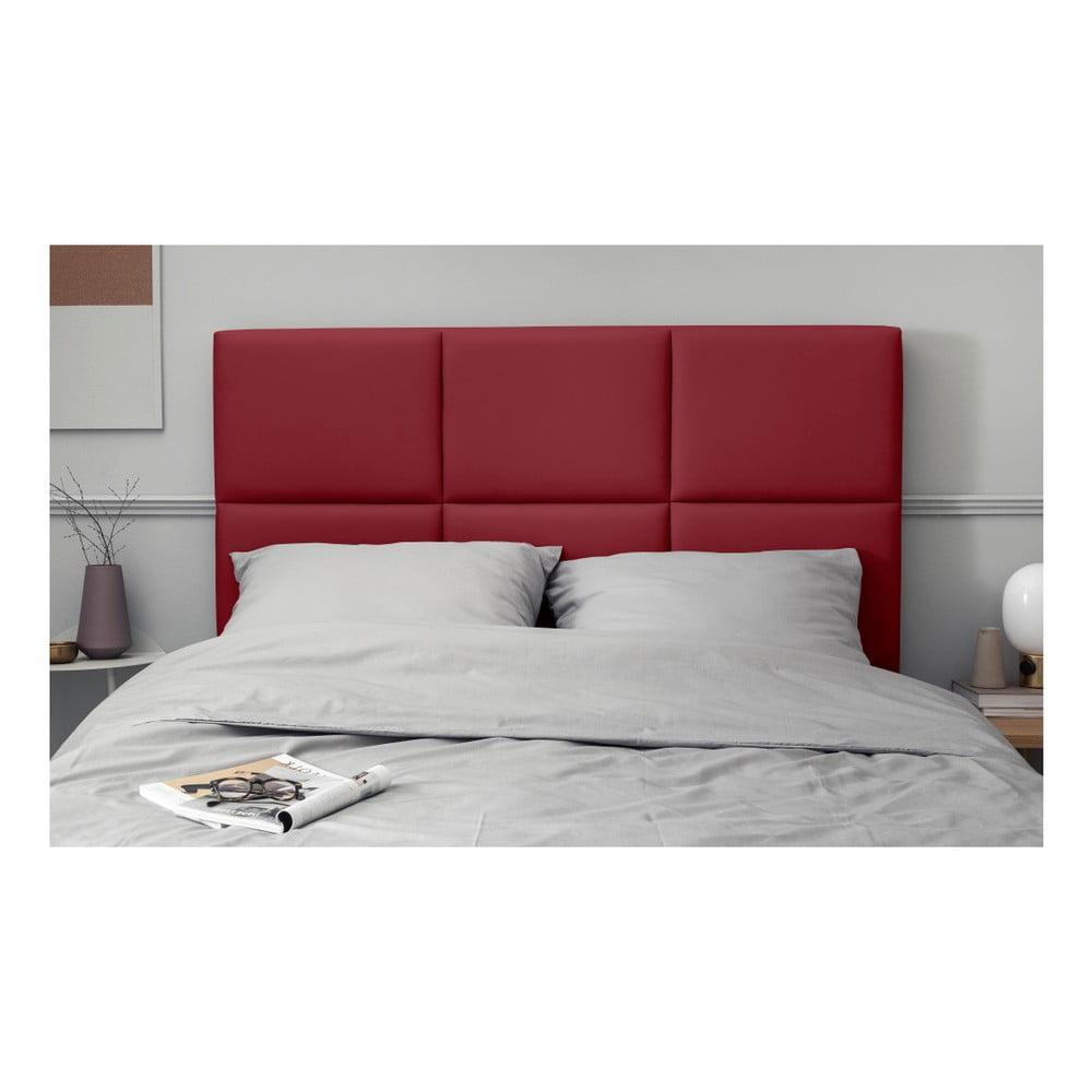 Czerwony Tapicerowany Zagłówek łóżka The Classic Living Aude 160x120 Cm Bonami