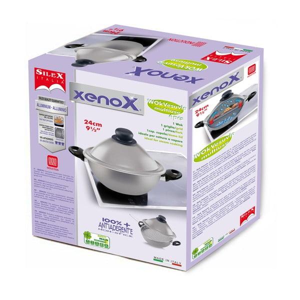 Wok Silex Italia Xenox Wok z 2 uchwytami, 24cm