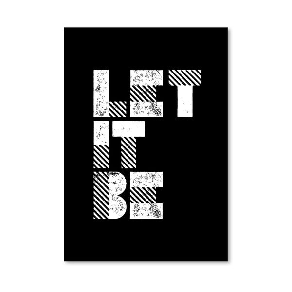 "Plakat ""Let It Be"", 42x60 cm"