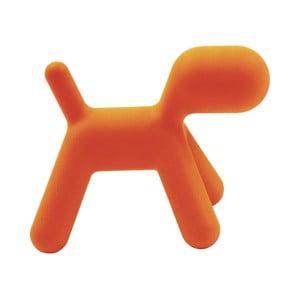 Pomarańczowe krzesełko Magis Puppy, 70 cm