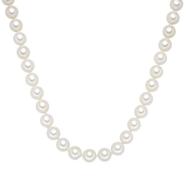 Naszyjnik z białych pereł ⌀ 12 mm Perldesse Muschel, długość 40 cm
