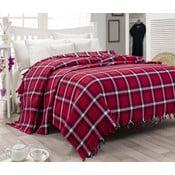 Cienka narzuta na łóżko Iskoc Red, 200x240cm