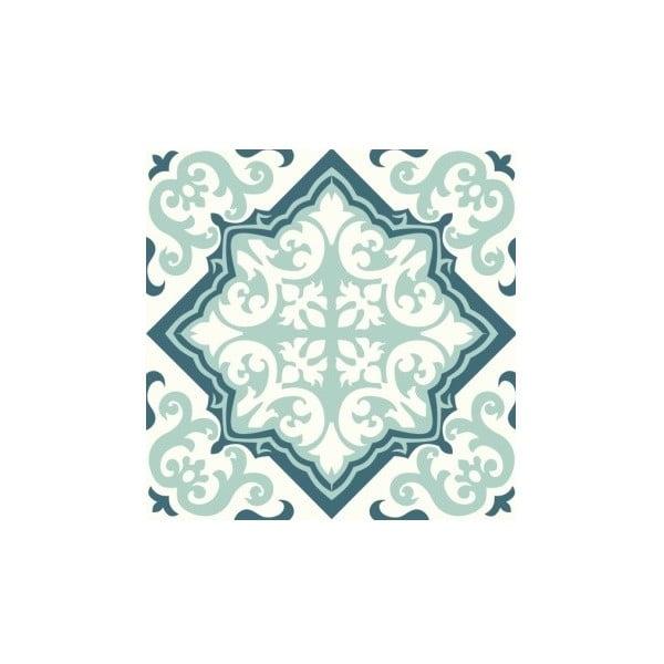 Naklejki Tile Art Green Ornament, 4 szt.