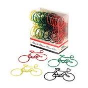 Zestaw 20 spinaczy biurowych Rex London Le Bicycle