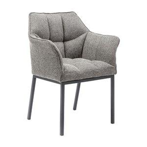 Szare krzesło do jadalni Kare Design Thinktank