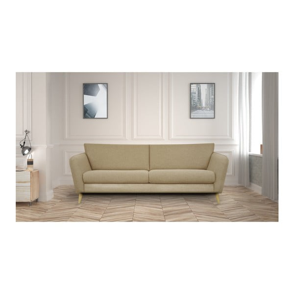Beżowa sofa 3-osobowa Helga Interiors Max
