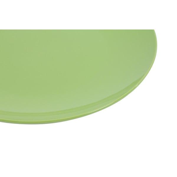 Zestaw 6 talerzy Kaleidoskop 27 cm, zielony