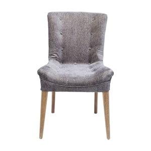 Szare krzesło Kare Design Stay