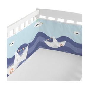 Ochraniacz do łóżeczka Happynois Sailor, 210x40 cm