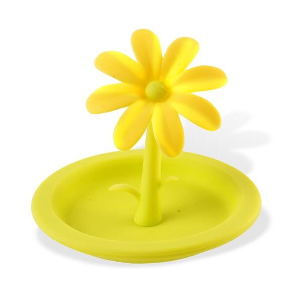 Silikonowa pokrywka na kubek Flower