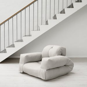 Fotel rozkładany Karup Hippo Natural