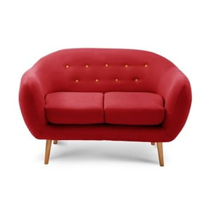 Sofa dwuosobowa Constellation Red/Orange/Natural