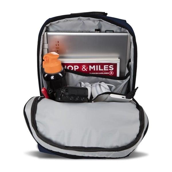Ciemnoniebieski plecak z portem USB My Valice GALAXY Smart Bag