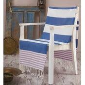 Ręcznik Hammam Antalya Blue, 100x180 cm