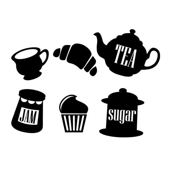 Naklejka Tea Jam Sugar
