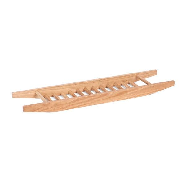 Półka na wannę z drewna dębowego Wireworks Bath Bridge