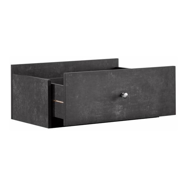 Szara szuflada dodatkowa do regału Støraa Versaille