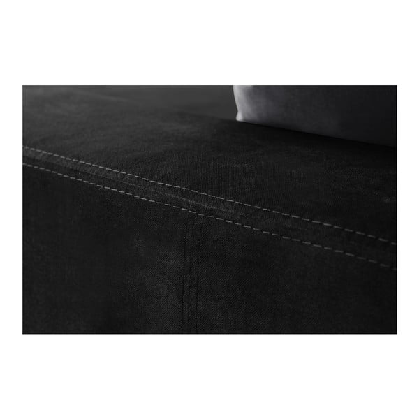 Narożnik Bellini Black/Anthracite, prawostronny