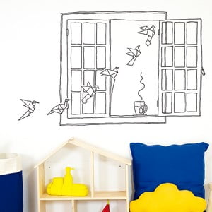 Naklejka Chispum Paper Birds Window