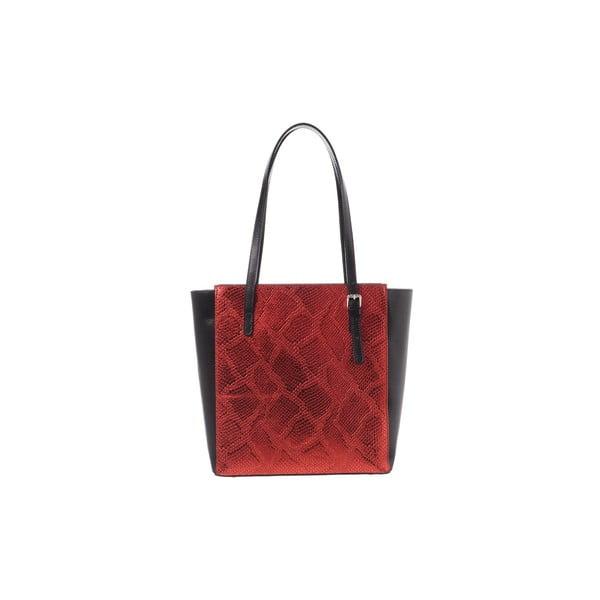 Skórzana torebka Rep Miss Red