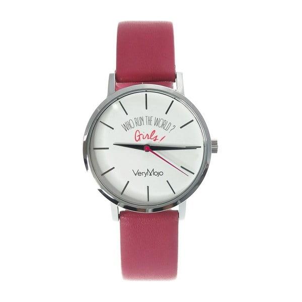 Zegarek VeryMojo Girl Power, różowy