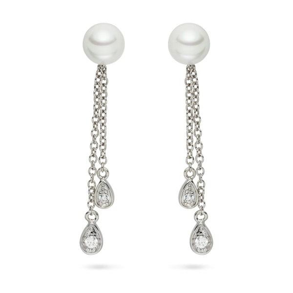 Kolczyki   perłowe Pearls of London Queen Long
