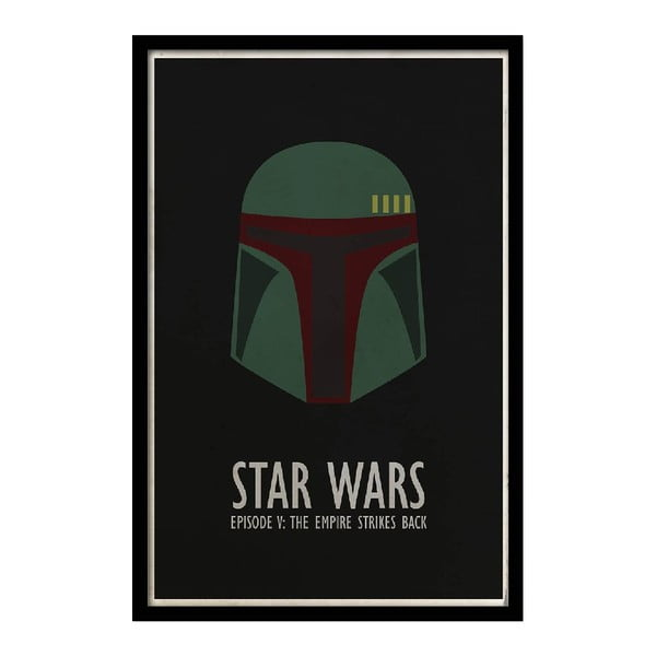 Plakat Star Wars V, 35x30 cm
