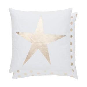 Poszewka na poduszkę Gold Star, 40x40 cm