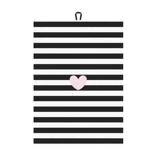 Komplet 2 ścierek kuchennych Miss Étoile French Love