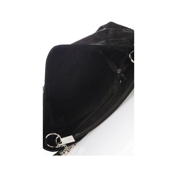 Skórzana torebka Italia, czarna