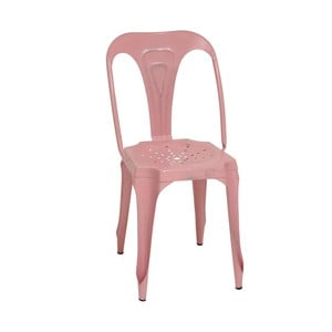 Metalowe krzesło Pink